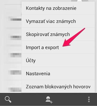 Ako preniest kontakty z androidu do iphone