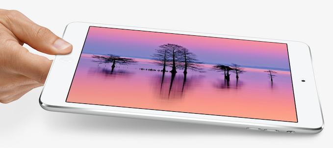 iPad mini s Retina displejom