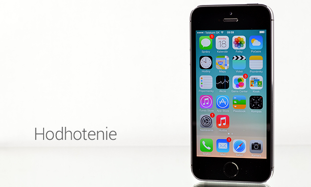 Recenzia iPhone 5S