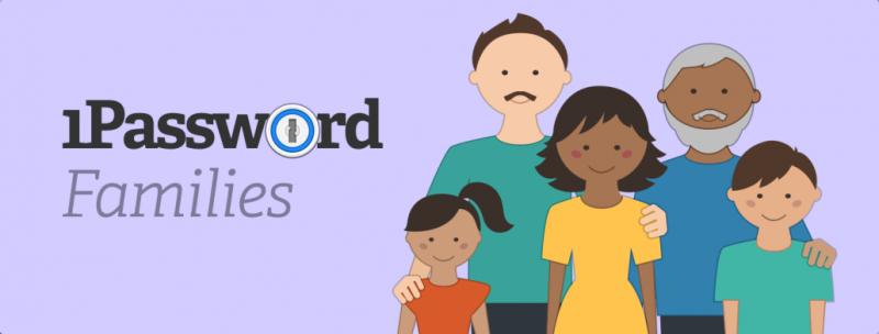 1Password families