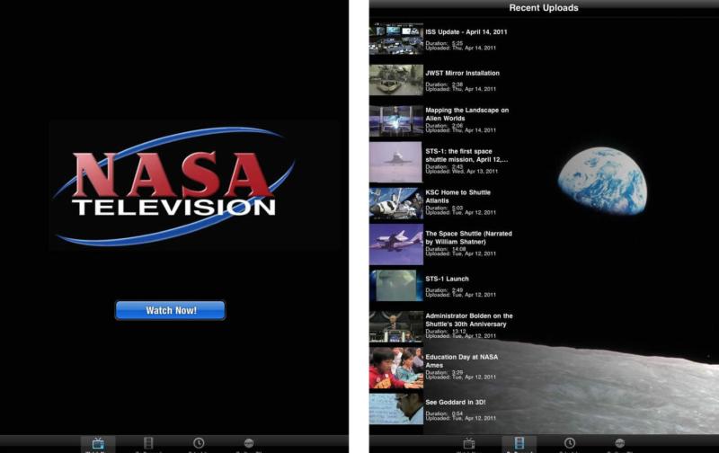 NASA Apple TV