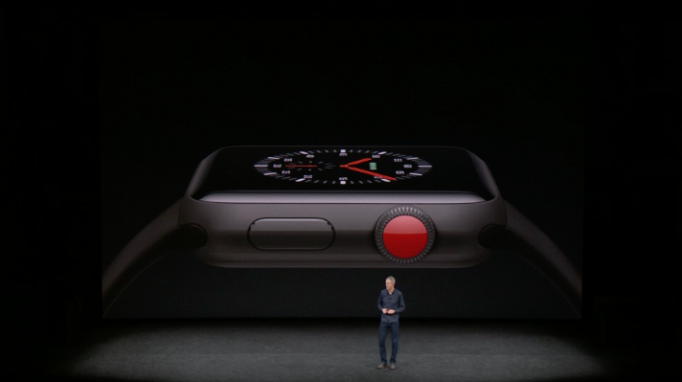 Nové Apple Watch  Series 3 so šedou farbou