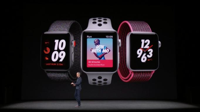 Nike náramky pre Apple Watch Series 3